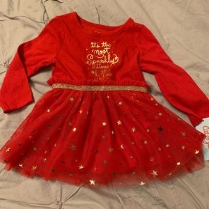 "NWT ""it's the most sparkly time of the year"" dress"